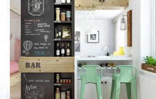 10 идей для маленькой кухни