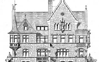 Фасад 187-1   Каталог архитектора (вып. 01)