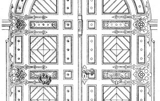 Двери 5   Каталог архитектора (вып. 05)