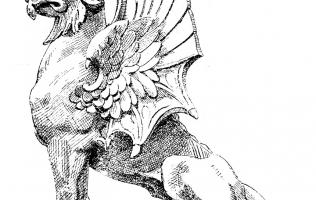 Львы и грифоны 1   Каталог архитектора (вып. 14)