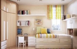 1. Объёмная люстра | Десять ошибок в интерьере маленькой квартиры
