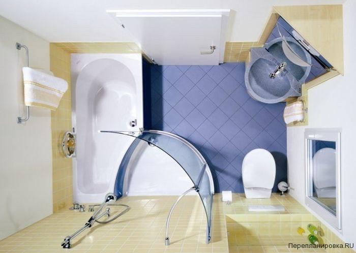 Как сделать ремонт в ванне маленькой