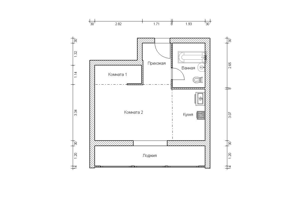 Дома серии ii-68. варианты перепланировки..