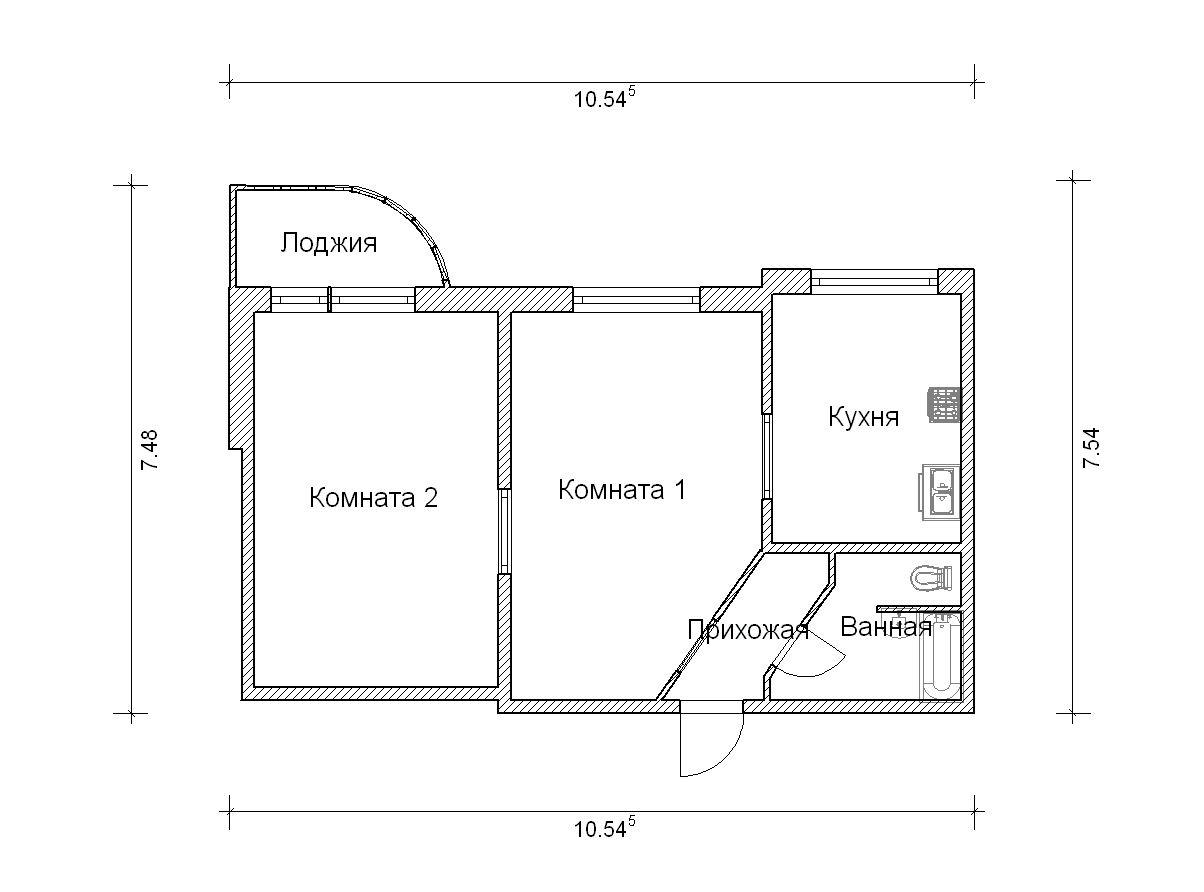 Дома серии п-3м. варианты перепланировки..