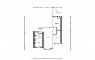 Серия П-3М. Перепланировка (3). Трёхкомнатная квартира (вар. 2)